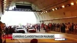 Carreras de autos en Túneles de Maunabo