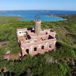 Ponen en marcha proyecto para restaurar faro de Culebrita