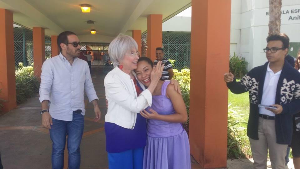 Rita Moreno en Humacao