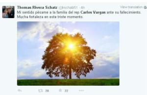 Reacciones Thomas Rivera schatz